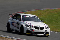 Stefan Ehlen is testing the BMW M235i Cup Racing
