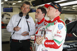 Norbert Michelisz, Honda Racing Team JAS, Honda Civic WTCC und Rob Huff, Honda Racing Team JAS, Honda Civic WTCC