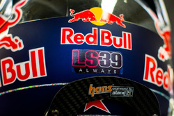 Carlos Sainz Jr., Scuderia Toro Rosso met eerbetoon aan Luis Salom