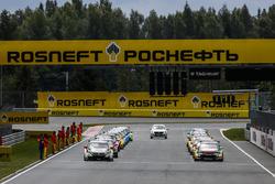 Startaufstellung Rennen 1