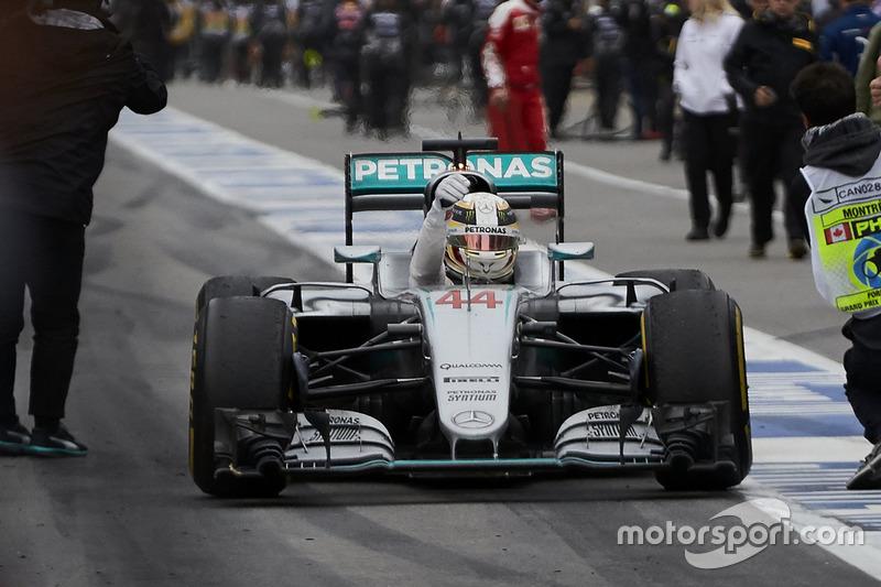 2016 Kanada GP: Lewis Hamilton, Mercedes AMG F1