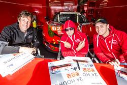 #62 Scuderia Corsa Ferrari 458 Italia: Bill Sweedler, Townsend Bell, Jeff Segal