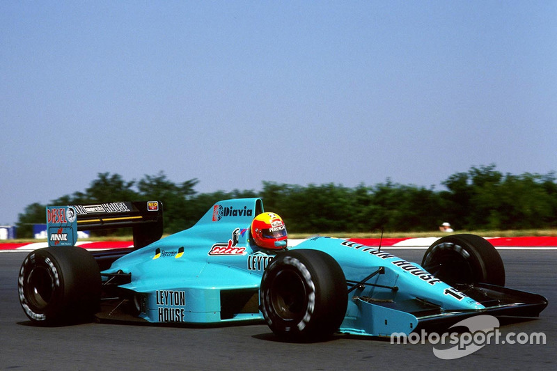 Leyton House & March