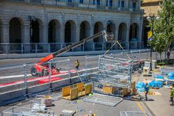 Підготовка треку в Баку