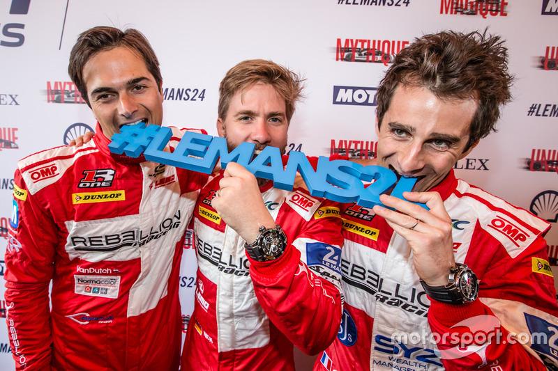 #12 Rebellion Racing Rebellion R-One AER: Nelson Piquet Jr., Nick Heidfeld, Nicolas Prost