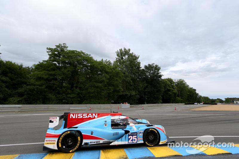 23: Ligier JSP2 Nissan команды Algarve Pro Racing (№25): Михаэль Мунеман, Крис Хой, Андреа Пиццитола