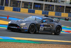 #22 TF Sport, Aston Martin V12 Vantage GT3: Andrew Jarman, Devon Modell