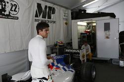 Daniel de Jong, MP Motorsport y Oliver Rowland, MP Motorsport