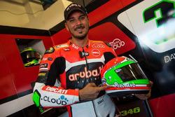 Davide Giugliano, Aruba.it Racing - Ducati SBK, casco conmemorativo