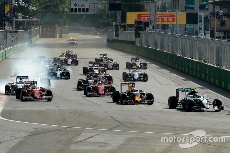 Формула 1 Ф1 в Баку: расписание, факты и статистика