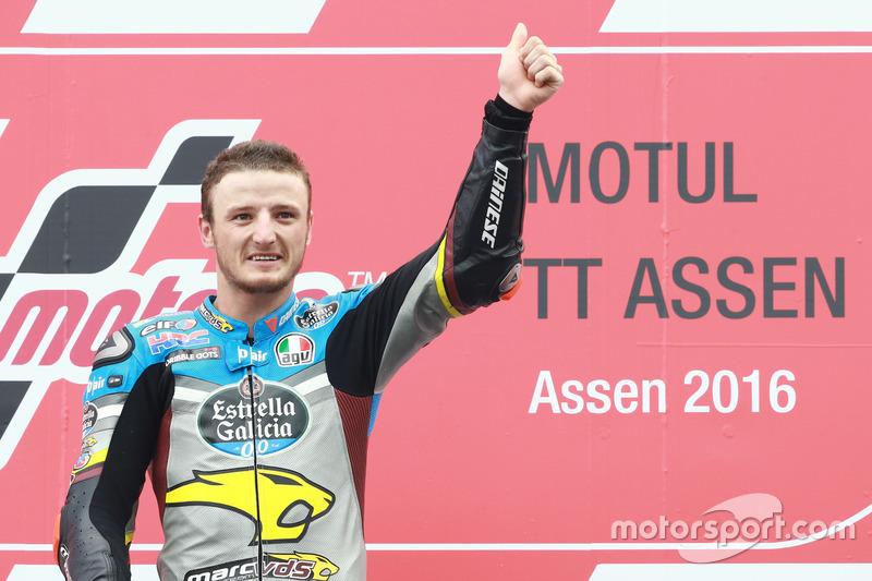 Podio: winner Jack Miller, Marc VDS Racing Honda