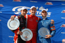 Podium A Class: juara lomba Michael Adams, peringkat kedua Trenton Estep, peringkat ketiga Gord Ross