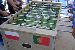Table kick football