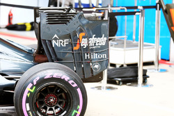 McLaren MP4-31 rear wing end plate
