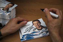 Cartes d'autographe de Sébastien Ogier, Volkswagen Polo WRC, Volkswagen Motorsport