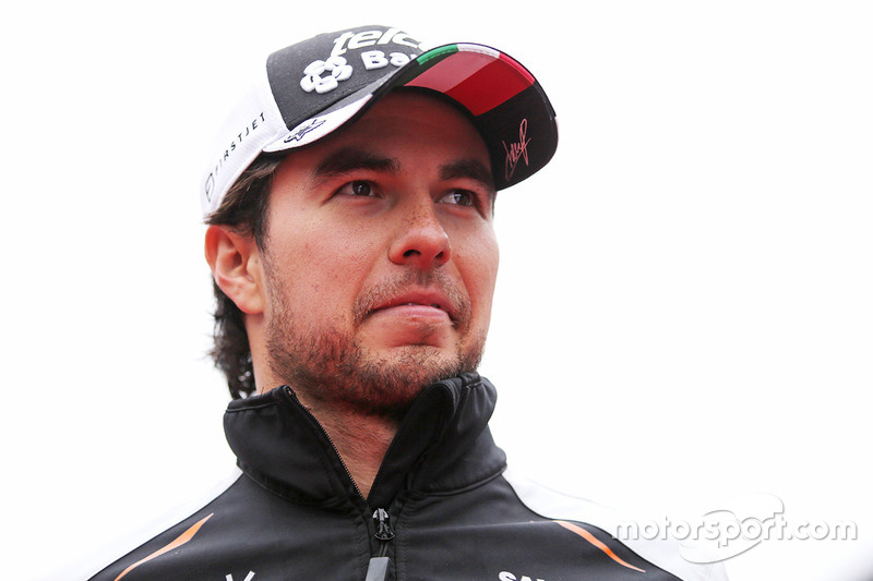 Plant Force India mit Sergio Perez?