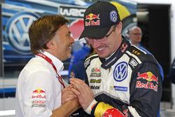 Jost Capito, Direttore Volkswagen Motorsport e Jari-Matti Latvala, Volkswagen Polo WRC, Volkswagen Motorsport