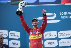 Podium: second place Daniel Abt, ABT Schaeffler Audi Sport