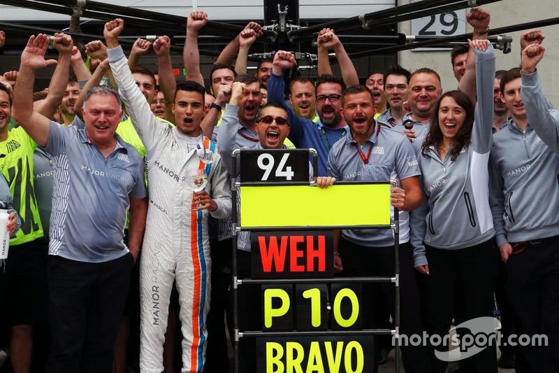 7. Паскаль Верляйн, Manor Racing (19-е место в чемпионате, 1 очко)