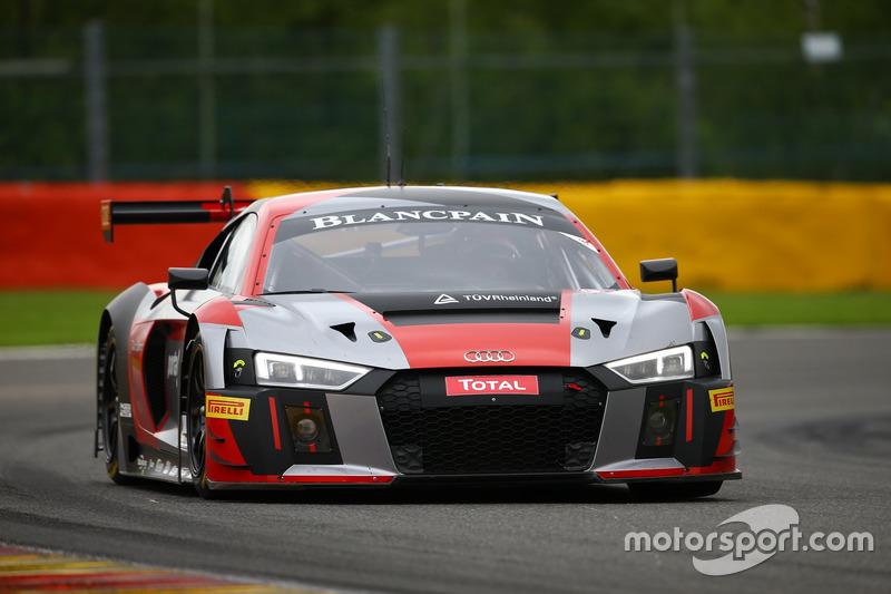 14. #6 Audi Team Phoenix, Audi R8 LMS: Christopher Mies, Markus Winkelhock, Frank Stippler