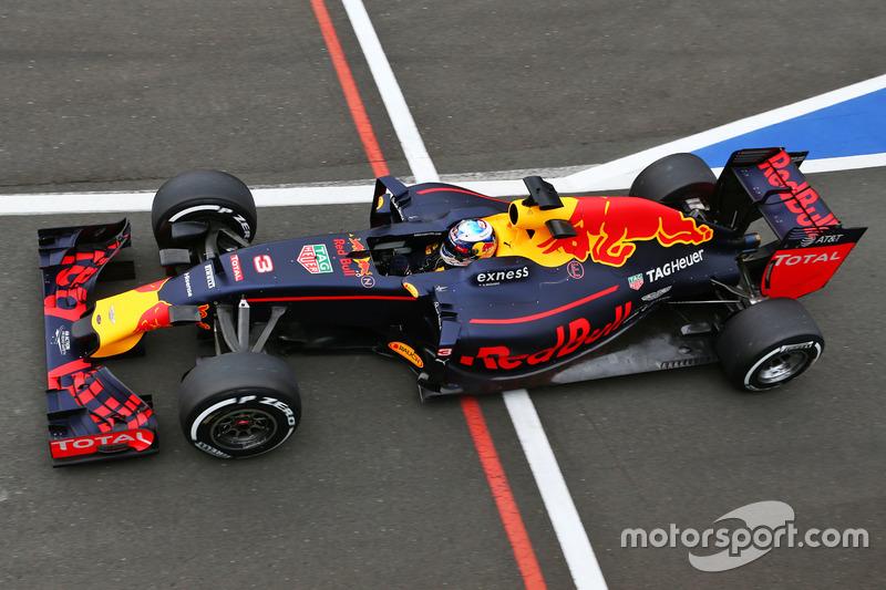 4: Daniel Ricciardo, Red Bull Racing RB12