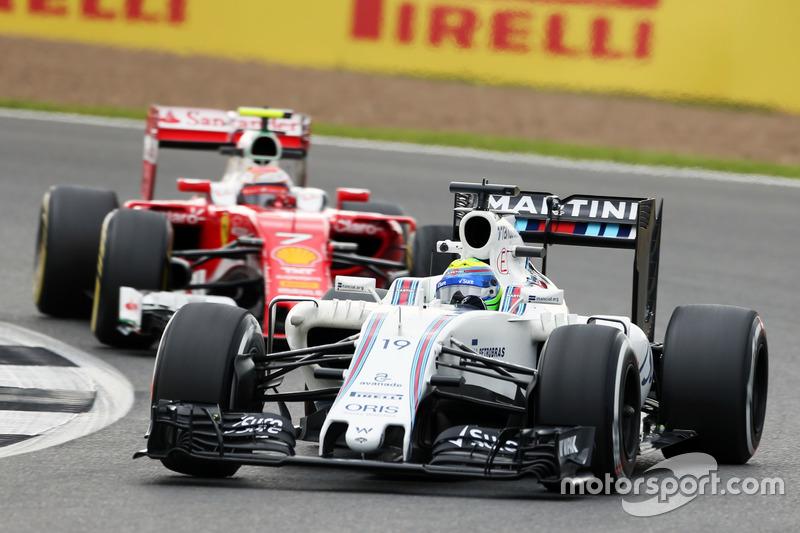 12: Felipe Massa, Williams FW38