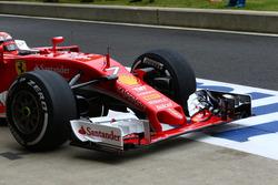 Ferrari, ala anteriore