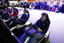 Jordan King, Racing Engineering; Gustav Malja, Rapax