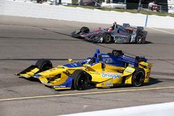 Marco Andretti, Andretti Autosport Honda, Will Power, Team Penske Chevrolet