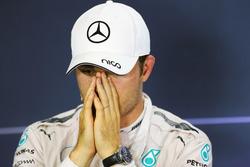 Нико Росберг, Mercedes AMG F1, на пресс-конференции