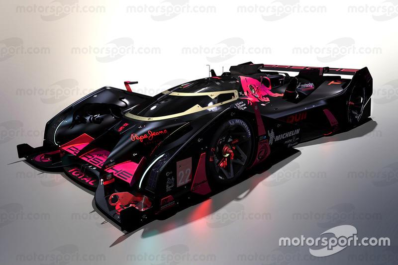 Diseño del futuro Fantasy WEC LMP1 para 2030