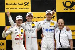 Podio: Ganador de la carrera Robert Wickens (CAN) Mercedes-AMG Team HWA, Mercedes-AMG C63 DTM; segundo lugar Marco Wittmann (GER) BMW Team RMG, BMW M4 DTM; tercer lugar Christian Vietoris (GER) Mercedes-AMG Team Mücke, Mercedes-AMG C63 DTM