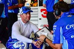 Jamie McMurray, Chip Ganassi Racing Chevrolet with crew chief, Matt McCall