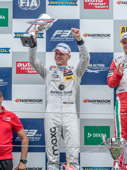 Podium, Maximilian Günther, Prema Powerteam Dallara F312 - Mercedes-Benz