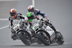 Eugene Laverty, Aspar MotoGP Team and Yonny Hernandez, Aspar MotoGP Team
