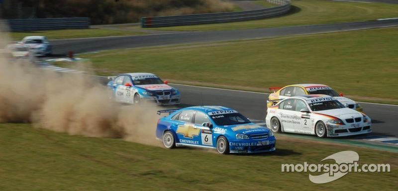 Nicola Larini goes rallying, WTCC Oschersleben 2008
