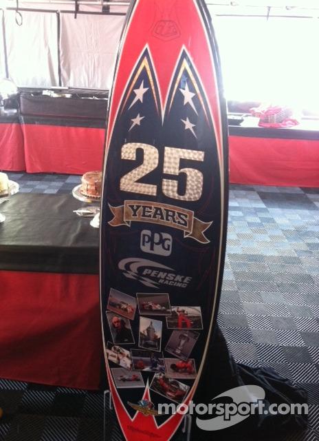 Penske Surfboard