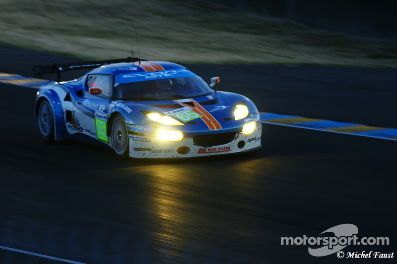 Lotus Evora au Porsche samedi soir