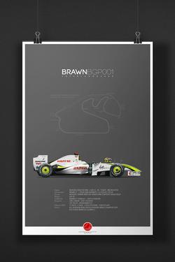 BRAWN BGP001 Jenson Button