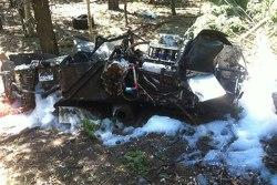 Paul Dallenbach Crash at Pikes Peak