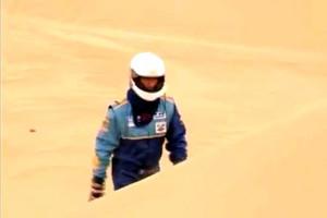 Eric Vigouroux in the Dakar preparation in Arizona