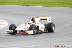 Ricardo Texeira Rapax GP2 Team