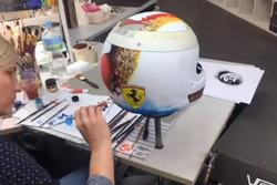 Capacete Vettel Suzuka