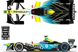 Renault formula e livery