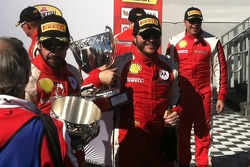 Carlos Kauffmann is all smiles in Race 2 Victory Lane