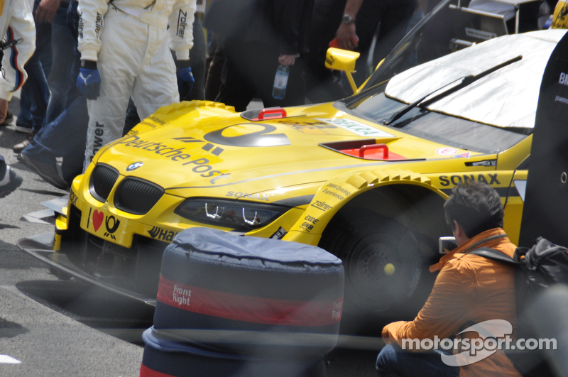 Timo Glocks car on the grid