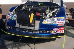 Engine cooling system on Greg Pursley's K&N Ride