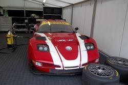 Corvette in the paddock