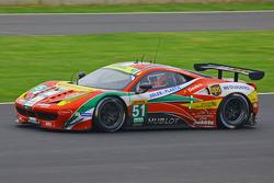 AF Corse's lead Ferrari
