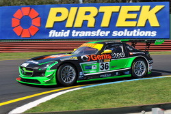 Australian GT Championship points leader Richard Muscat in the Erebus Motorsport SLS AMG GT3